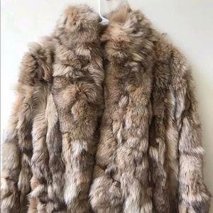 Jackets & Blazers - Fox Or Coyote Fur Coat Made In Haiti M